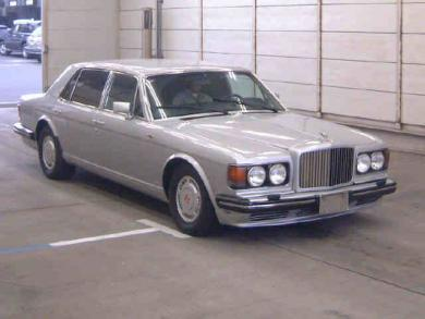 JDM 1990 Bentley Turbo R Limo import