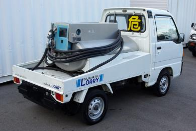 "JDM 1991 Subaru Sambar ""Lorry""  Kei  Fuel Tanker with Meter import"